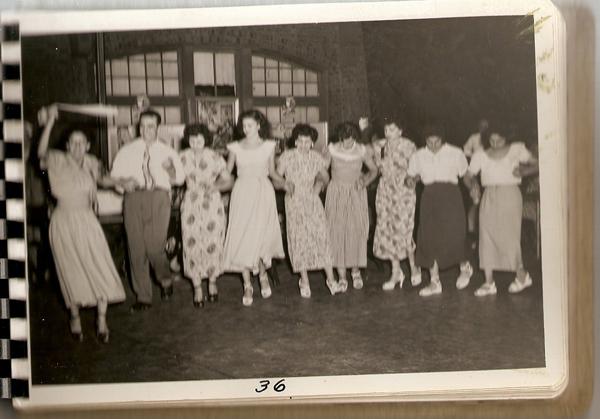 Syrian Community performing Debka 1950