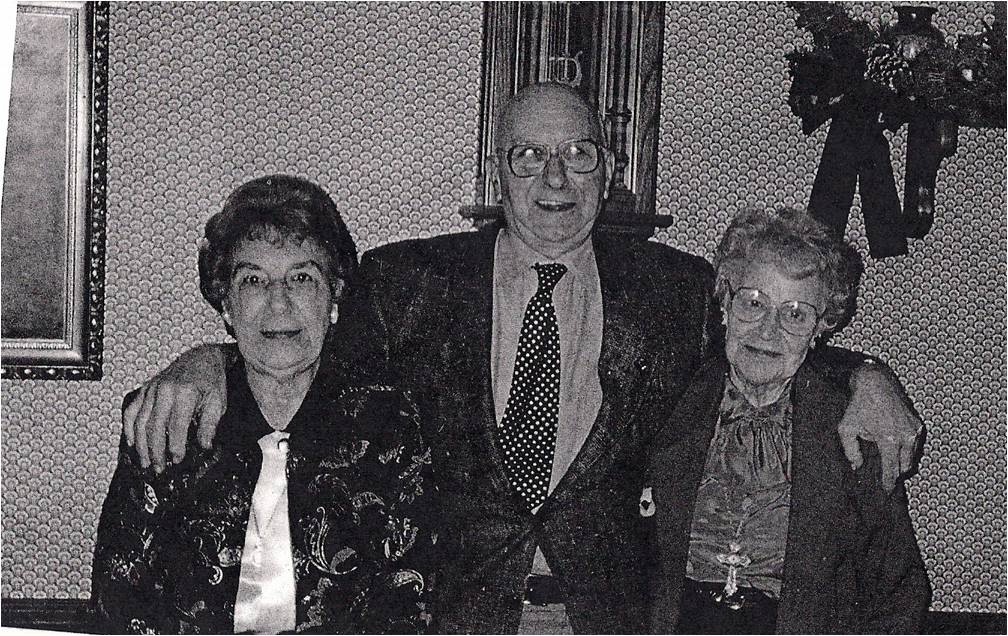 Margaret Hale(Mater) and George and Mavis Mater late 70's