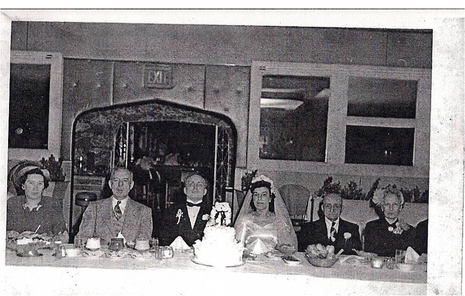 Margaret Mater and Turner Hales wedding 1950, Annunciation Greek Orthodox church, Broadway St in milwaukee