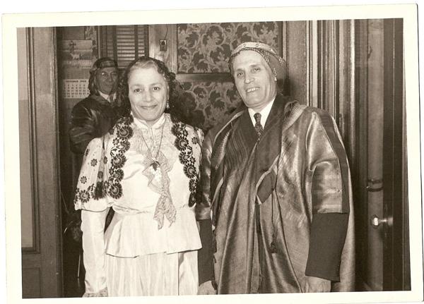 Najeeb Arreith and his wife Helen Herro