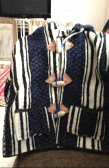 Jacket bought for Dounia's son