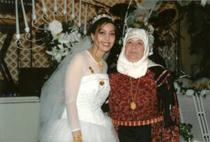 Fatmeh's daughter Sue and sister-in-law