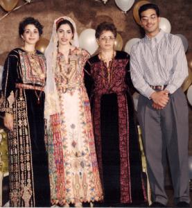 Rabeeha Shawer and family